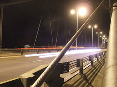 Humber Bridge (Ballam) Tags: uk longexposure bridge england night photography lights photo photos unitedkingdom britain transport picture photograph humber ballam ballamness daveballam
