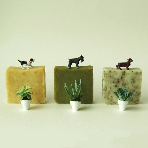 2-Vegan-Organic Bar Soap by prunellasoap