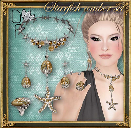 STARFISH-amber-set