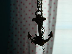 my home is the ocean (lovelyronnie) Tags: necklace 21 anchor forever xxi forever21 foreverxxi
