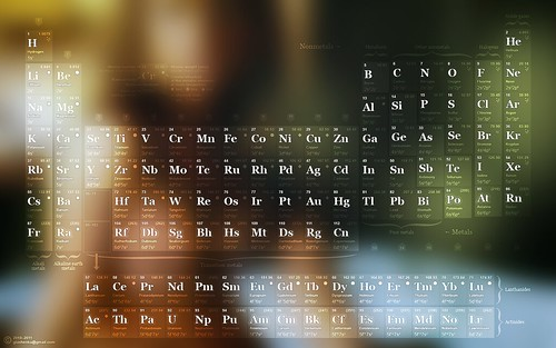1440x900 Periodic table wallpaper / desktop / background. Special Edition.  Download free!