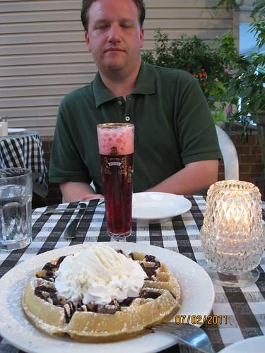 7/2/11: Dessert at Cock & Bowl