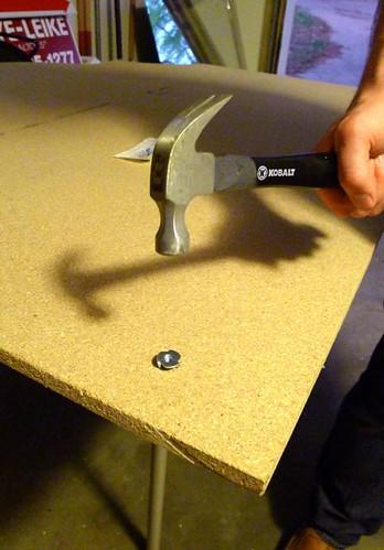 Hammering T-nut