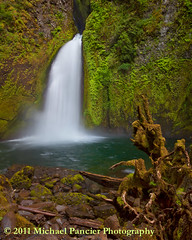 Wahclella Falls-1 (Michael Pancier Photography) Tags: usa mist green nature oregon portland waterfalls rivers cascades pacificnorthwest grotto creeks columbiarivergorge commercialphotography naturephotographer wahclellafalls tannercreek michaelpancierphotography landscapephotographer fineartphotographer michaelapancier wwwmichaelpancierphotographycom tannerfalls