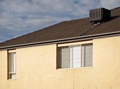 Windows (RWYoung Images) Tags: roof urban house window melbourne suburb cooling pointcook rwyoung