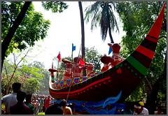 Pohela Boishakh /   (14th April) (Nazmul Hossain [ON/OFF]) Tags: life new color nikon university year culture celebration program dhaka 2012 rythm bengali pohela 1419 boishakh nazmul romna charukola   botomul d3100 hossian nazmulbd 01717552939