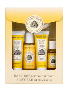 Burt's Bees Baby Bee Getting Started Kit 小蜜蜂婴儿洗护五件套礼盒使用S&S后$8.71