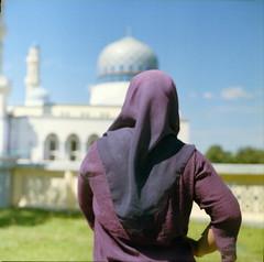 One & only (alemershad™) Tags: 120 6x6 film mediumformat women kodak bokeh hijab mosque muslimah squareformat malaysia kotakinabalu mf negativescan kiev sq sabah masjid kk 120mm kiev88 80mm wanita filem ilovefilm alem likas arsatb kodakektacolor masjidbandarayalikas vescan alemershad canoscan9000f sabahnegeridibawahbayu