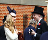 Florence Brudenell-Bruce struggles to find her pass to gain entry to Ascot - Prince Harry's ex forgot her ticket and had to wait until she was given another Royal Ascot at Ascot Racecourse - Day 2 Berkshire, England