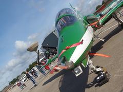 Saudi Hawk T1 (Stu Weston) Tags: grass june plane photography airport military flight wing engine royal somerset historic airshow saudi static base 23rd t1 2012 hawks lineup aricraft yeovilton rnas