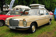 Mercedes-Benz 220 (hiphopcarjunkie) Tags: show classic car june vintage run event 24th 2012 moffat rootes 24062012