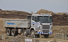 Victor Jamieson Scania Tipper (Neil K44) Tags: truck tipper shetland scania