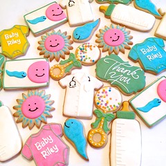 Thank you cookies for a fertility doctor (kelleyhart) Tags: fertilitydoctorthankyou thankyoucookies fertility sugarcookies customcookies kelleyhartcustomcookies