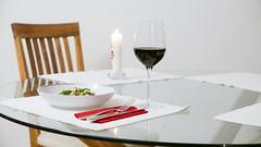 Dinner is ready (Adrian Willems) Tags: essen food dinner white wine redwine wein rotwein tisch table