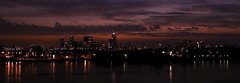 Bright lights, Big city (louise peters) Tags: kopvanzuid manhattanaandemaas maas nieuwemaas meuse skyline sunset zonsondergang harbour haven licht