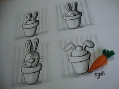 meu mundo (hyalibarros) Tags: coelho desenho grafite nanquim hyalibarros