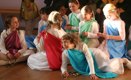 Girls as Rennaissance Painting