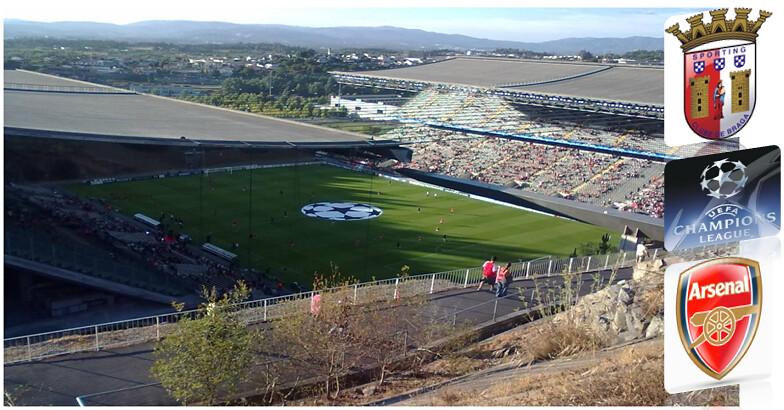 Estádio AxA ©Braga Sempre