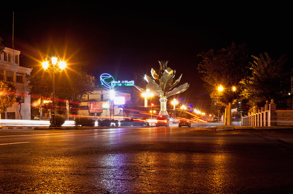Promenade à Sétif by night