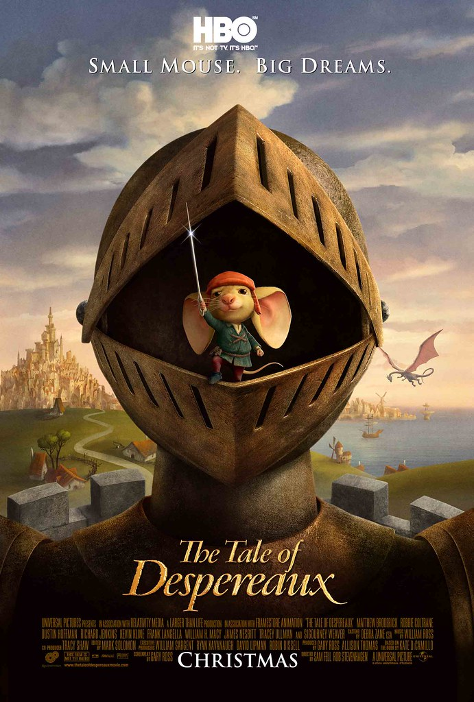 The Tale of Despereaux only on HBO India