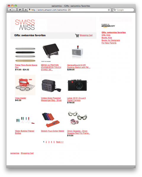 SWISS MISS SHOP