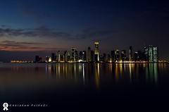 Sleepless in Doha (puthoOr photOgraphy) Tags: dk doha 18mm westbay nikond40 puthoor amzingqatar dohabynight moderndoha vmq2011 gettyimage