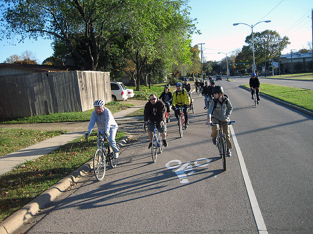 BFR Black Friday Ride - Waterview Bike Lane