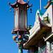 Straßenlaterne in China-Town