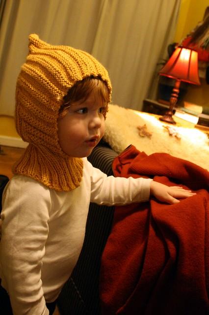 golden pixie hood