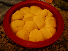 rolls ready to be baked!