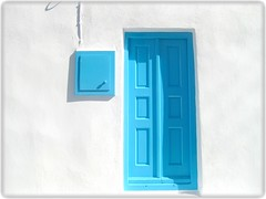 Mykonos Blues [Explored] (FlipMode79) Tags: door blue white flickr explore greece mykonos hss hcs explored flipmode79