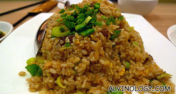 Cai Por Fried Rice