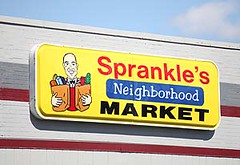 Sprankle's in Vandergrift, PA was assisted by the PA Fresh Food Financing Initiative (via Kriski Valley Food Bank)