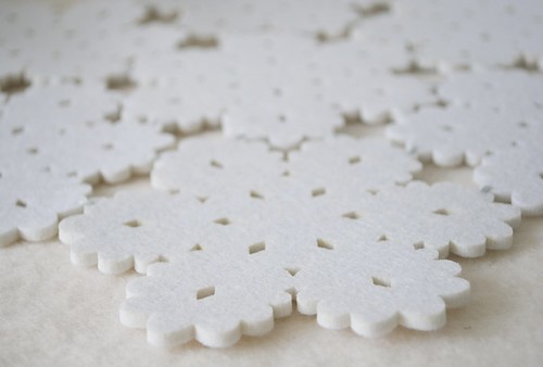 Snowflake table mats