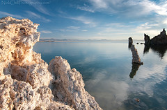 Mono Lake, California (Nick Chill Photography) Tags: california morning light lake rock sunrise landscape nikon image sandiego stock scenic explore yosemitenationalpark monolake tufa highsierra easternsierras d300s tokina1116mm nickchill