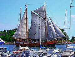 Astrid (Pjotr I) Tags: docks finland boats helsinki ships balticsea astrid schooner tallships sailingships bluesails blinkagain