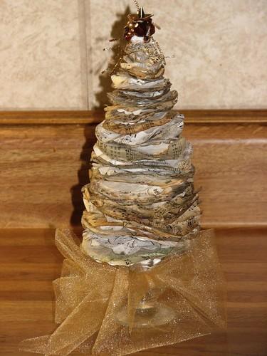 Vintage Ephemera Christmas Trees 001
