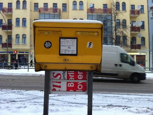 Mailbox, Berlin