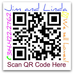 QR code for our website