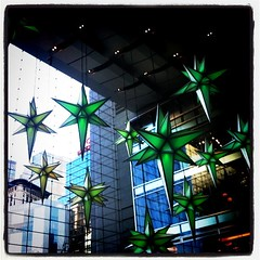 Lobby of the Time Warner Center