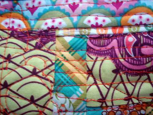 log cabin pencil case (detail)
