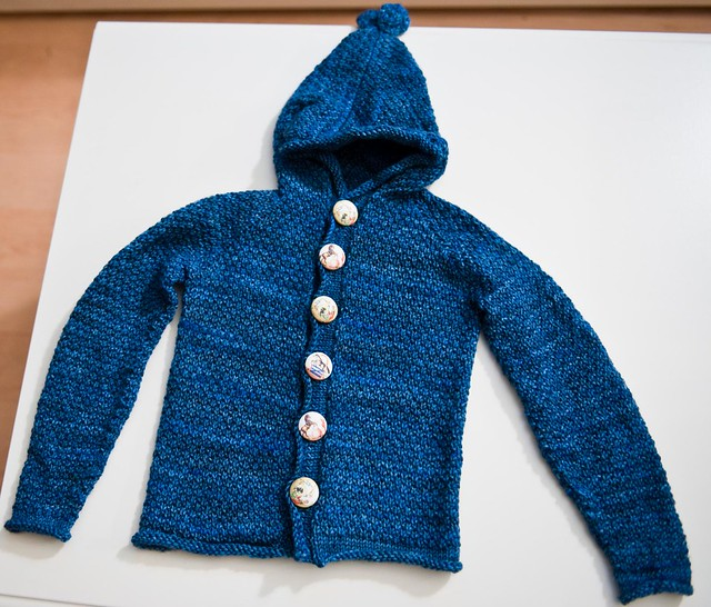 Sugar Bear Cardi - FINISHED