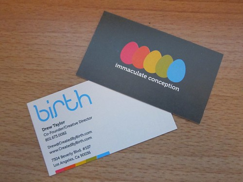 Birth Business Cards