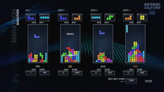 Tetris Team Marathon