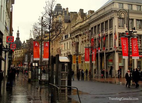 Streets of Antwerp, Belgium