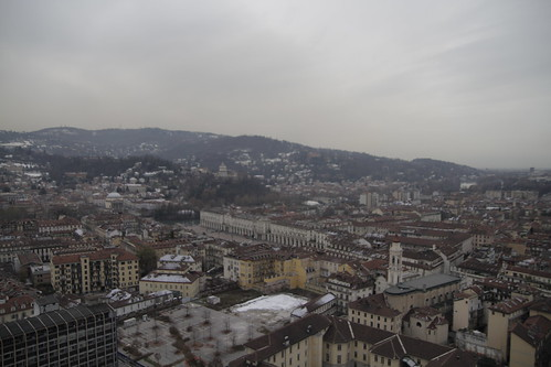 View of Torino from observation deck 3