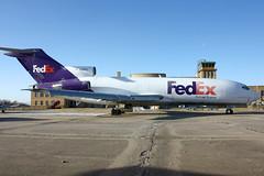 FedEx 727-173C N199FE (Justin Pistone) Tags: ex aviation kansas express boeing fedex fed wichita federal musuem mcconnell iab afb 727 727100 kiab 727173 n199fe 727173c