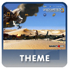 UNCHARTED 3 Dynamic Theme for PS3