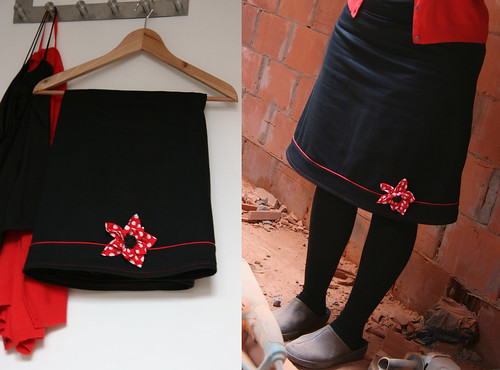 'dresscode red' skirt
