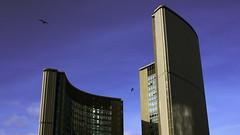Toronto City Hall (lencss) Tags: toronto cityhall ontario finnisharchitect viljorevell heikkicastren bengtlundsten seppovaljus hannskarlbandel richardstrong nathanphillipssquare theeyeofgovernment 100queenstreetwest canada canon eos rebel xsi 1320 f71 27mm efs1855mmf3556is
